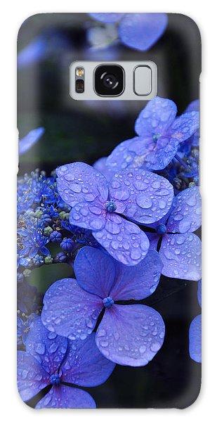 Close Up Galaxy Case - Blue Hydrangea by Noah Cole