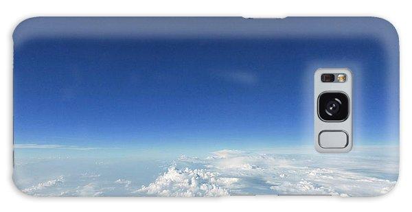 Blue In The Sky Galaxy Case by AmaS Art