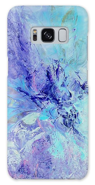 Blue Indigo Galaxy Case by Irene Hurdle