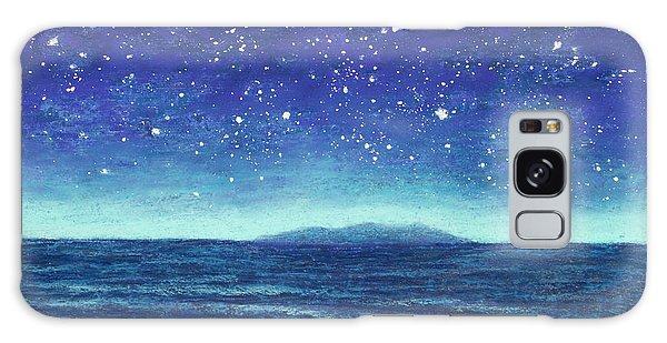 Blue Island 01 Galaxy Case