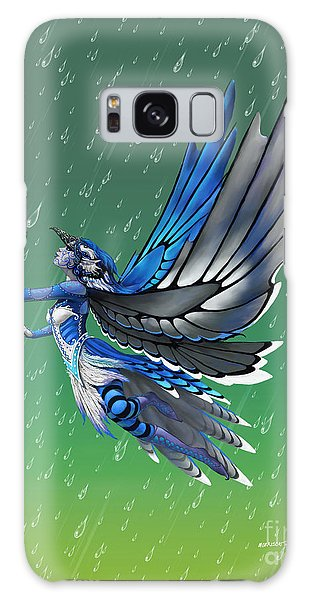 Blue Jay Fairy Galaxy Case