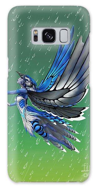 Blue Jay Fairy Galaxy Case