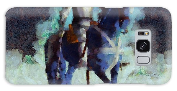 Anubis Galaxy Case - Blue Knight by Esoterica Art Agency