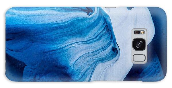 Blue Lagoon Galaxy Case