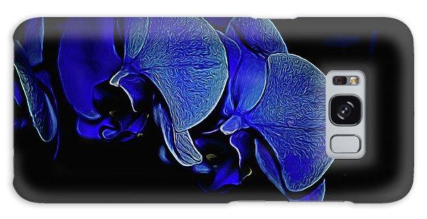 Blue Light Galaxy Case