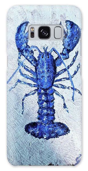 Blue Lobster 1 Galaxy Case