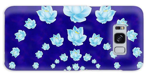 Blue Lotus Tunnel Galaxy Case