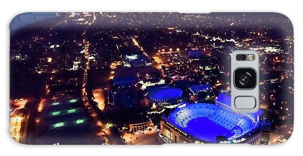 Blue Lsu Tiger Stadium Galaxy Case