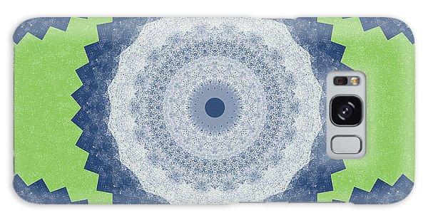 Fractal Design Galaxy Case - Blue Mandala- Art By Linda Woods by Linda Woods
