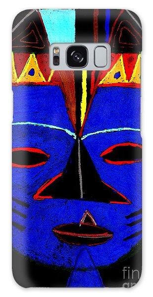 Blue Mask Galaxy Case