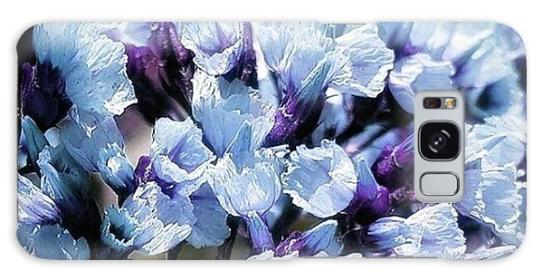 Galaxy Case featuring the photograph Blue Melancholia. #flowerart by Mr Photojimsf
