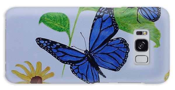 Blue Monarch Galaxy Case