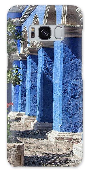 Blue Monastery Galaxy Case