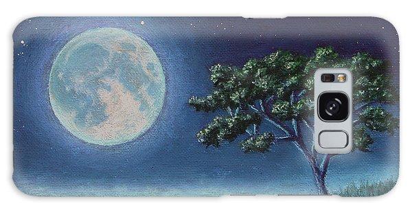 Blue Moon 01 Galaxy Case