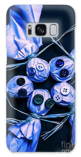 Made Galaxy Case - Blue Moon Halloween Scarecrows by Jorgo Photography - Wall Art Gallery
