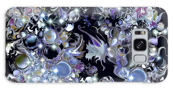 Blue Moon Galaxy Case by Loxi Sibley