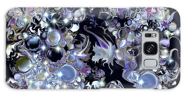 Blue Moon Galaxy Case by Loxi Sibley