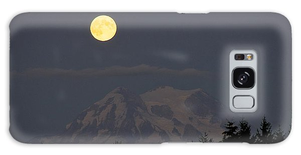 Blue Moon - Mount Rainier Galaxy Case by Sean Griffin