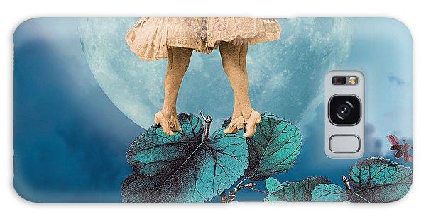 Blue Moon Galaxy Case by Olga Snell