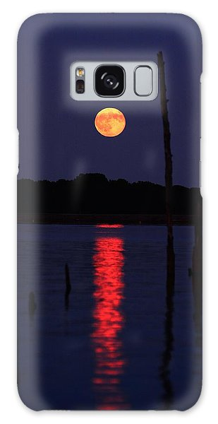 Blue Moon Galaxy Case
