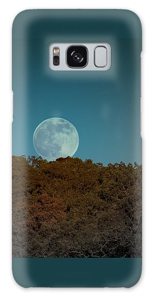 Blue Moon Risign Galaxy Case