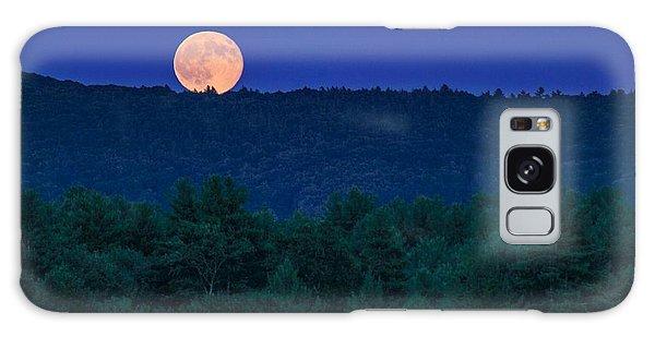 Blue Moon Galaxy Case