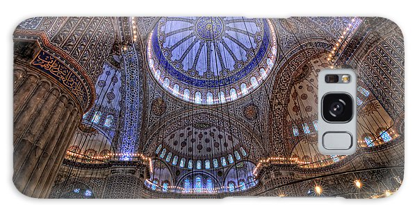 Blue Mosque Galaxy Case