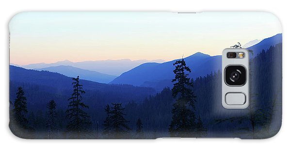 Blue Mountain Layers Galaxy Case