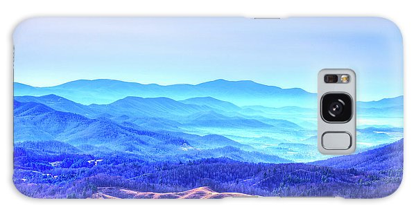 Blue Mountain Mist Galaxy Case by Dale R Carlson