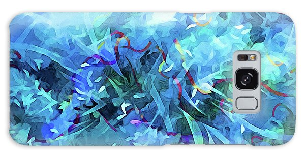 Blue Movement Galaxy Case