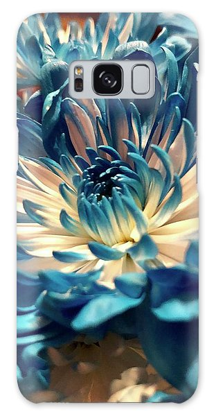 Blue Mum Galaxy Case