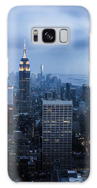 Blue New York Galaxy Case