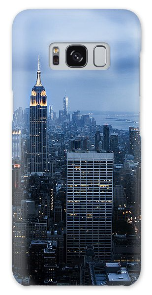 Blue New York Galaxy Case