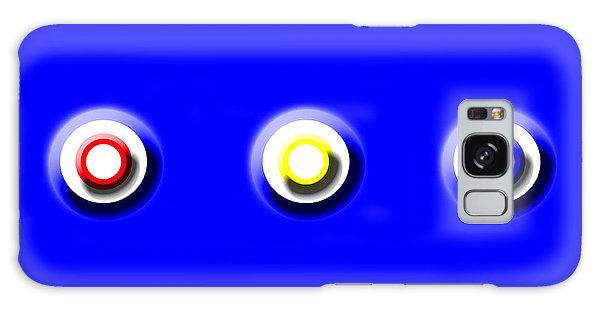 Blue Nine Squared Galaxy Case