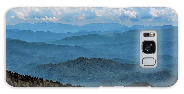 Blue On Blue - Great Smoky Mountains Galaxy Case