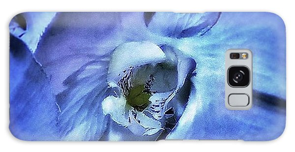 Galaxy Case featuring the photograph Blue Orchids. They Represent Strength by Mr Photojimsf