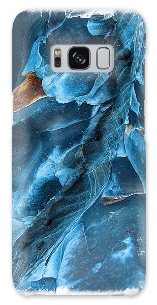 Beach Galaxy S8 Case - Blue Pattern 1 by Jonathan Nguyen