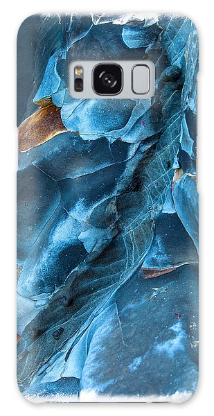 Seashore Galaxy Case - Blue Pattern 1 by Jonathan Nguyen