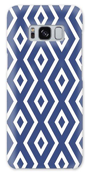 Blue Pattern Galaxy Case