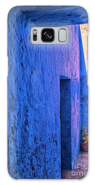 Blue Peru Galaxy Case