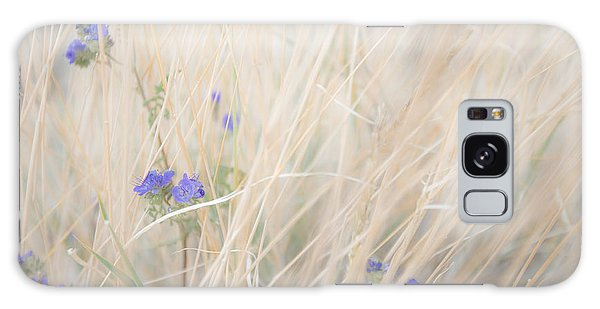 Blue Phacelia Galaxy Case
