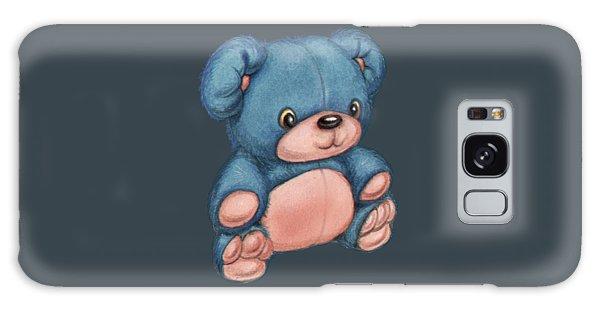 Blue Pink Bear Galaxy Case