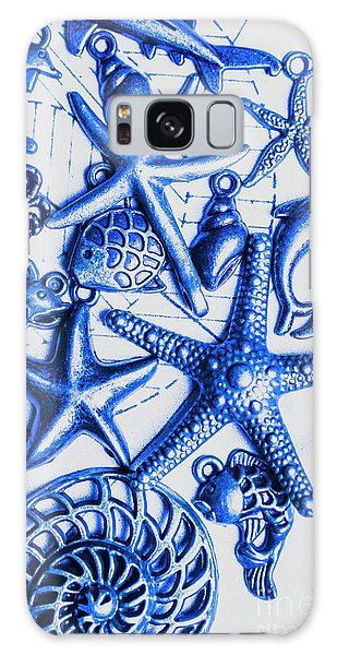 Scuba Diving Galaxy Case - Blue Reef Abstract by Jorgo Photography - Wall Art Gallery