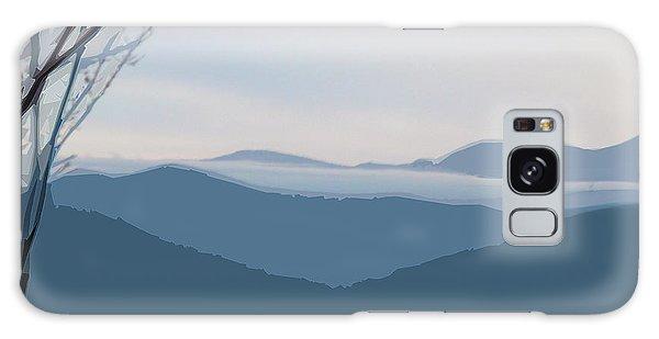 Blue Ridge Above The Clouds Galaxy Case