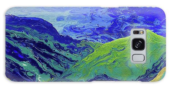 Iridescent Galaxy Case - Blue Ridge Cloud Shadows 1.0 by Catherine Twomey