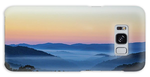 Blue Ridge Dawn Galaxy Case by Dale R Carlson