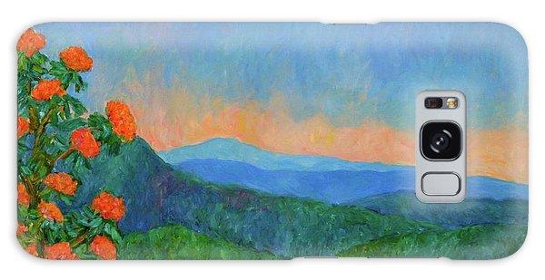 Blue Ridge Morning Galaxy Case by Kendall Kessler