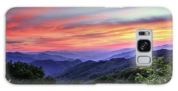 Blue Ridge Mountain Color Galaxy Case