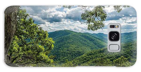 Blue Ridge Mountain View Galaxy Case