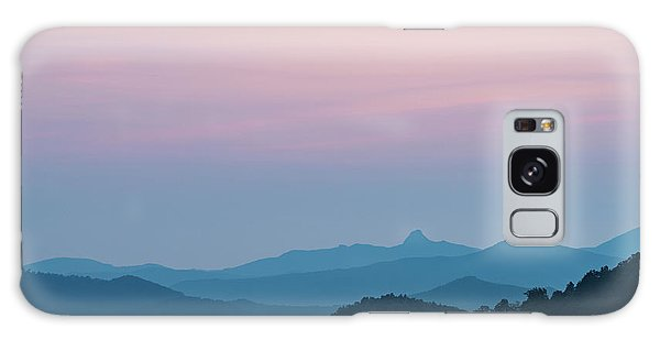 Blue Ridge Mountains After Sunset Galaxy Case